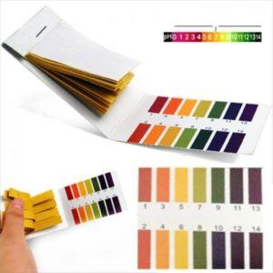 Lakmoes Papier test strips PH 1-14 -0